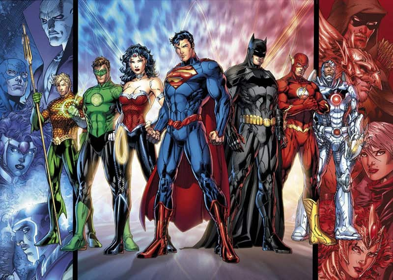 Лига Справедливости Америки читать комикс dc