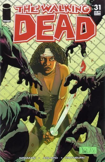 Ходячие мертвецы #31, читать комикс онлайн