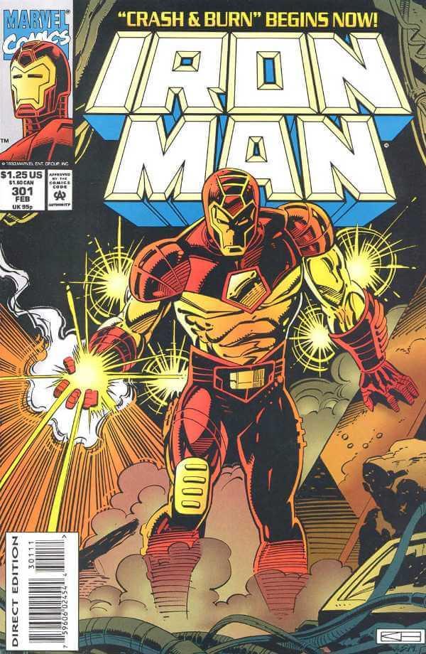 Железный Человек - Iron Man Vol.1 #301