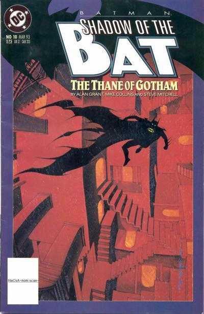 Читать Комикс Бэтмен - Тень Летучей мыши №10