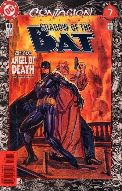 Читать Комикс Бэтмен - Тень Летучей мыши №49