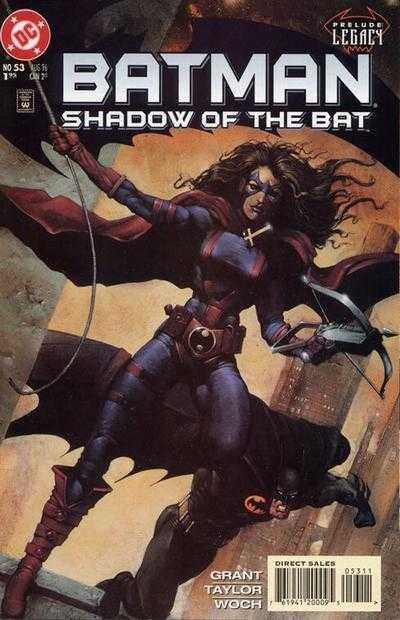 Читать Комикс Бэтмен - Тень Летучей мыши №53