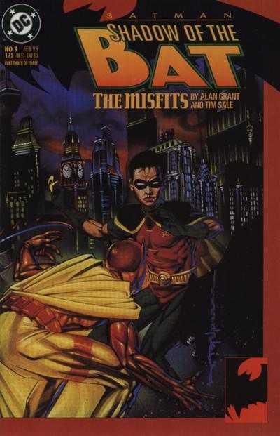 Читать Комикс Бэтмен - Тень Летучей мыши №9