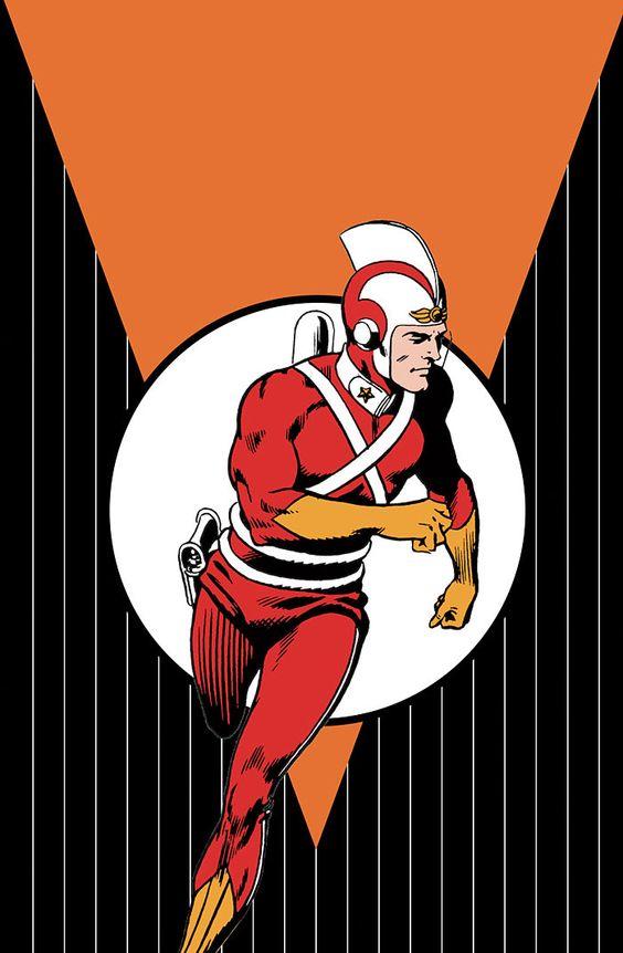 Адам Стрэндж Adam Strange DC comics Биография героя