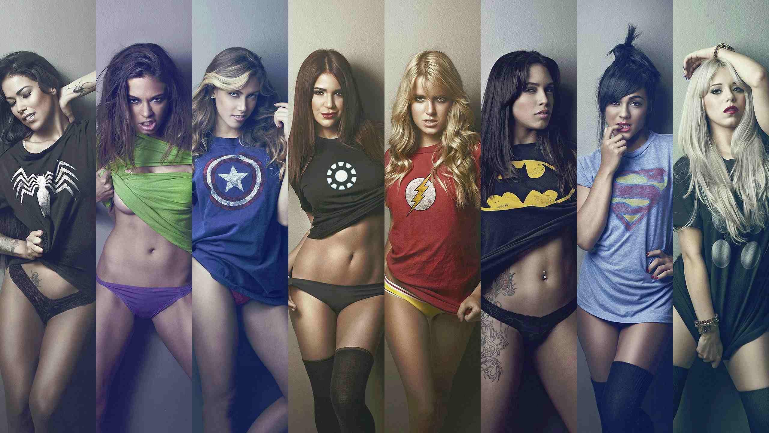 ТОП-5 самых сексуальных героинь комиксов вселенной Marvel и DC