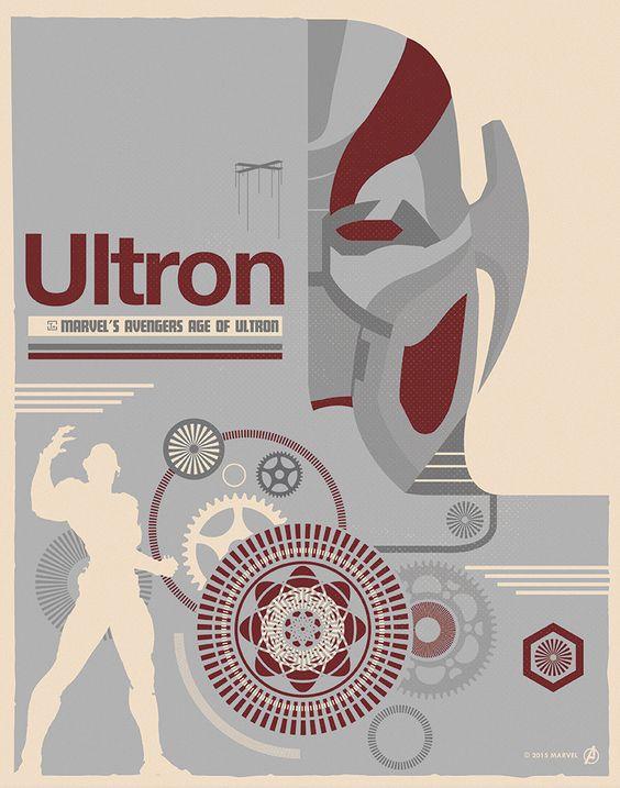 Альтрон (Ultron) История персонажа Марвел комиксов