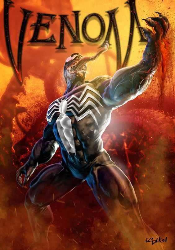 Веном Venom читать комикс Марвел Комиксы про Венома Marvel comics 12