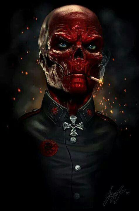 Красный череп Red Scull Johann Shmidt История персонажа Marvel