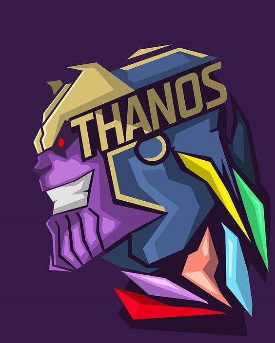 Танос Thanos История персонажа вселенной Марвел комикс фото картинка
