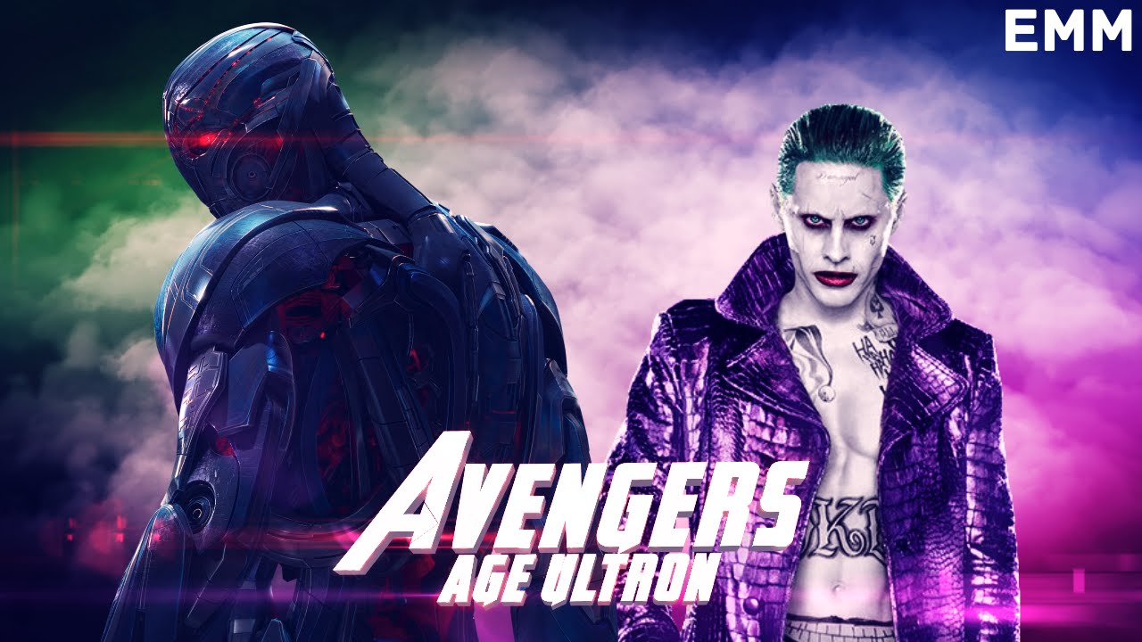 AVENGERS: AGE OF ULTRON (SUICIDE SQUAD STYLE) крутое видео