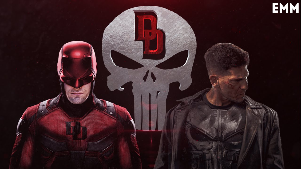 Daredevil v Punisher (Batman v Superman Style) эпичное видео