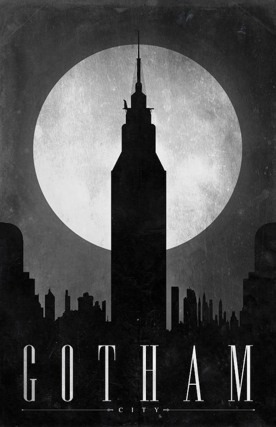 Готэм-сити DC comics Gotham City История города Бэтмена фото картинки