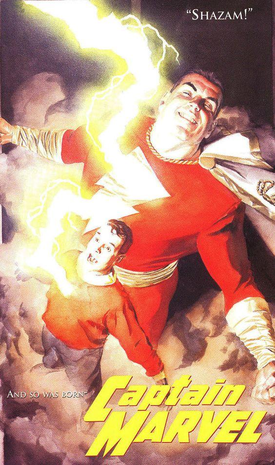 Капитан Марвел Captain Marvel Шазам Shazam DC comics История персонажа картинки фото рисунки изображения комикс comics dc marvel