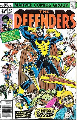 Защитники №62 Марвел комиксы - Defenders Marvel comics