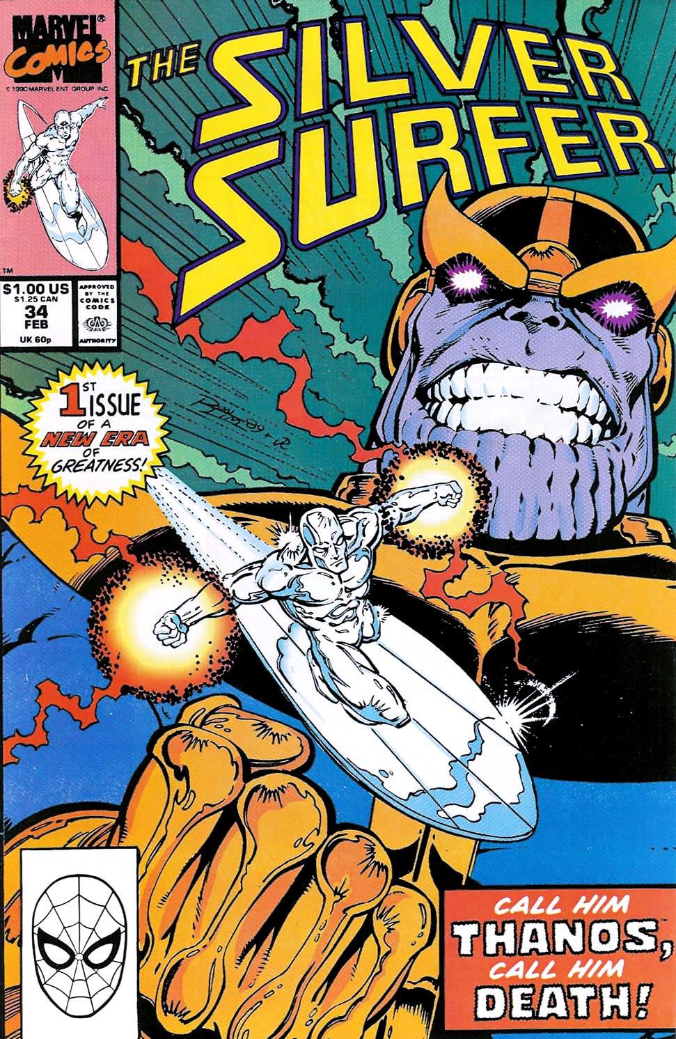 Серебряный Серфер комиксы Марвел читать онлайн на русском - Silver Surfer