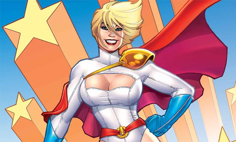 Кто такая Power Girl - Пауэр Гёрл - История персонажа