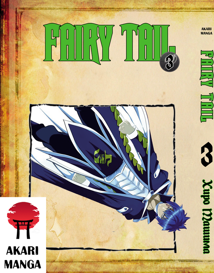 Фейри Тейл манга Том 3 Хвост Феи - Fairy Tail манга читать онлайн на русском