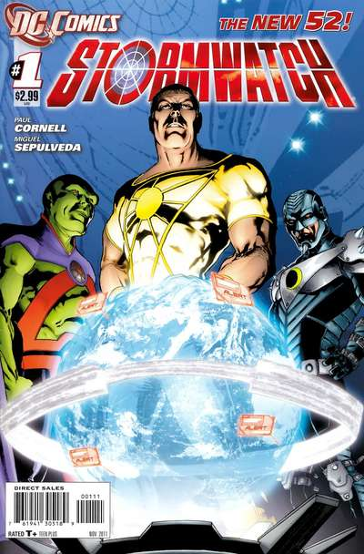 Комиксы Штормовой Дозор читать онлайн - Stormwatch DC comics