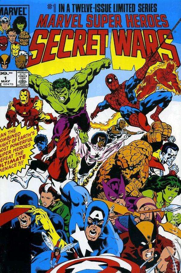 КомиксТайные войны - (1984-1985) Secret Wars I №