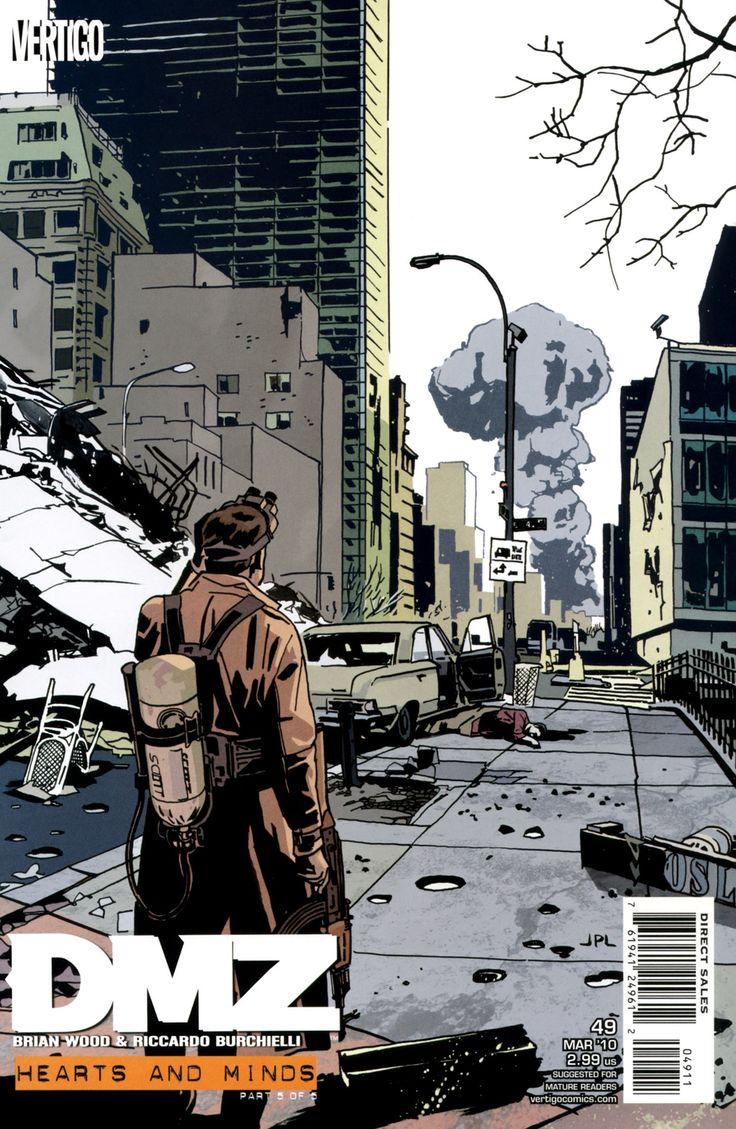 Комикс ДМЗ Демилитаризованная Зона №1 (DMZ) читать онлайн