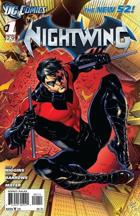 Комикс Найтвинг Том 3 №1 читать онлайн на русском - Nightwing vol.3