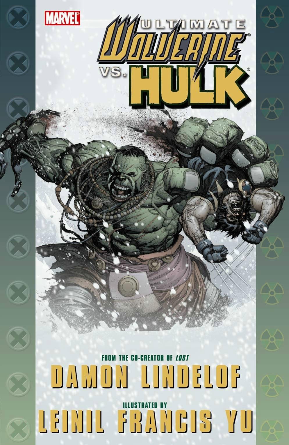 Современные Росомаха против Халка №1 читать комикс онлайн