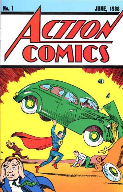 Action Comics (Vol. 1) №1 / Боевые Комиксы №1 читать онлайн