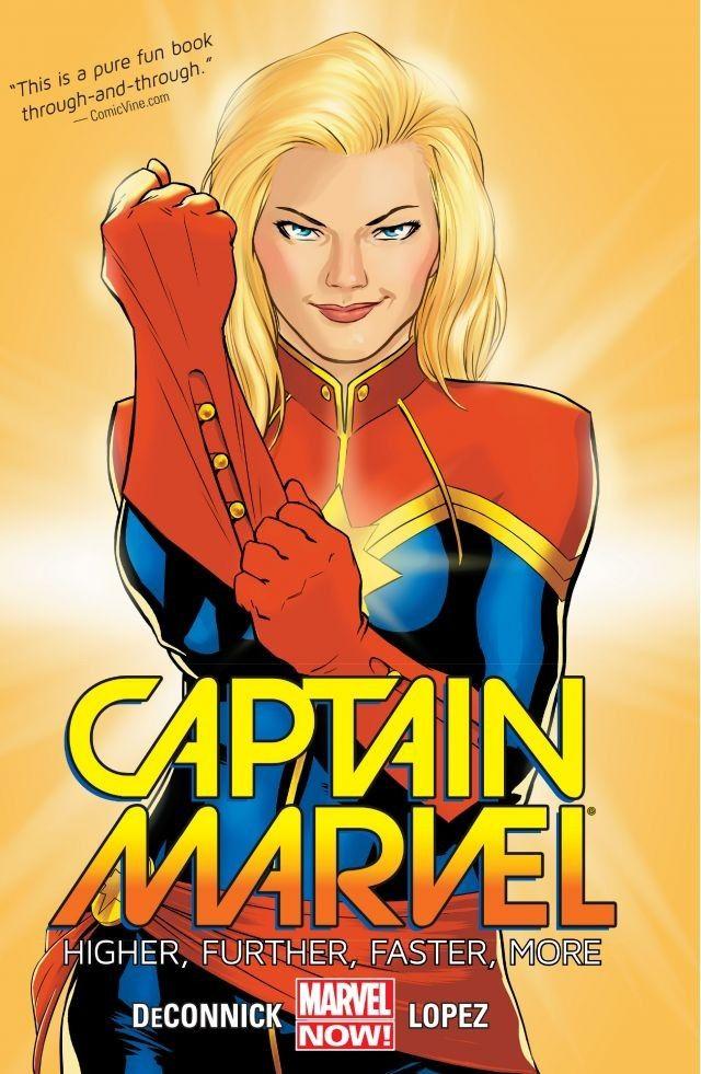 Комиксы Капитан Марвел (Мисс Марвел) - Carol Danvers (Ms. Marvel & Captain Marvel)