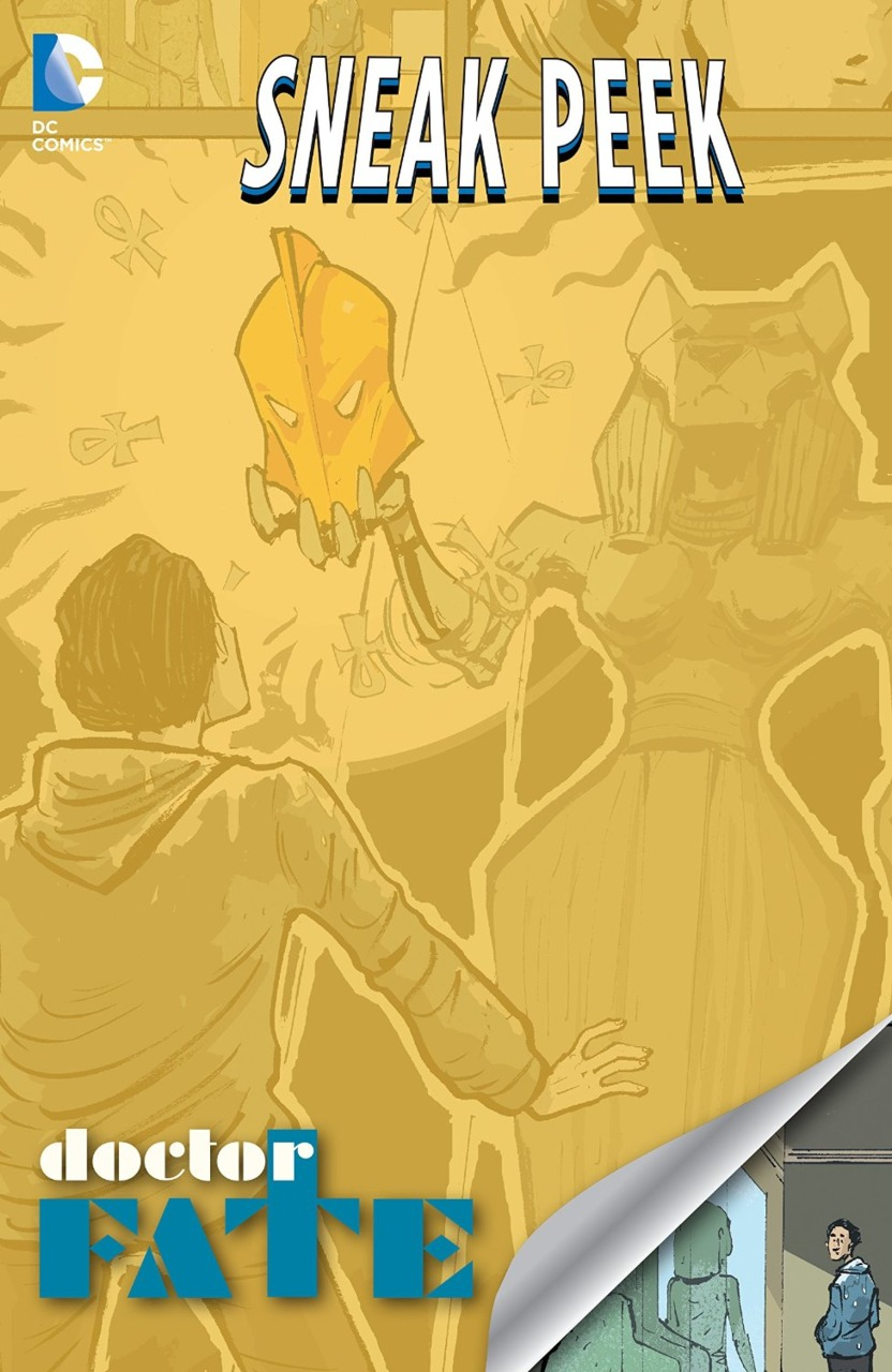 Доктор Фэйт Том 4 №1 - Doctor Fate комикс онлайн на русском