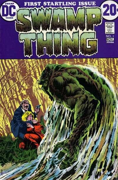 Комикс Болотная Тварь №1читать онлайн на русском - Swamp Thing