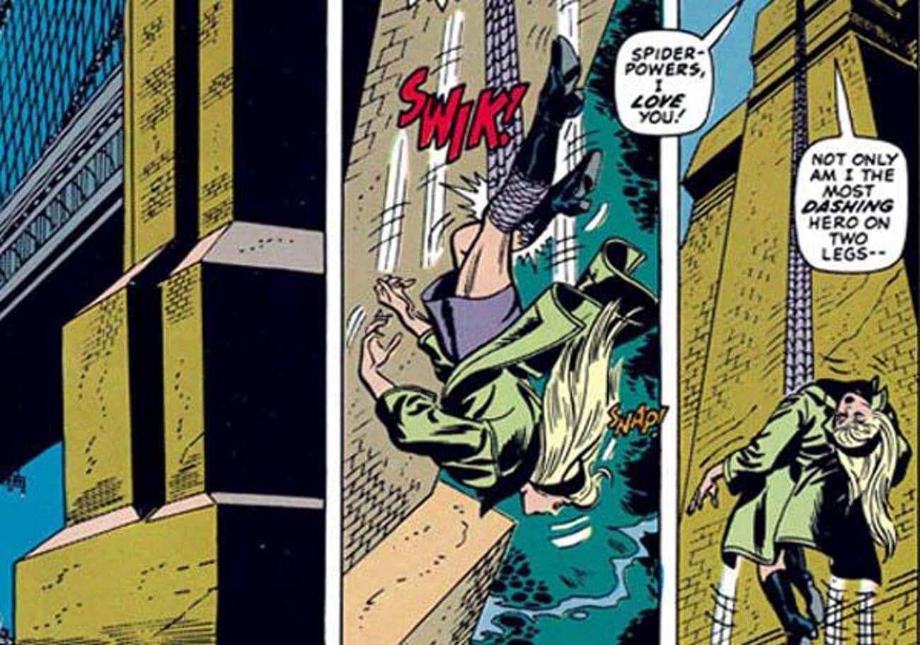 Человек-паук случайно убивает (или занимает первое место) в списке 29 супергероев, убивших людей