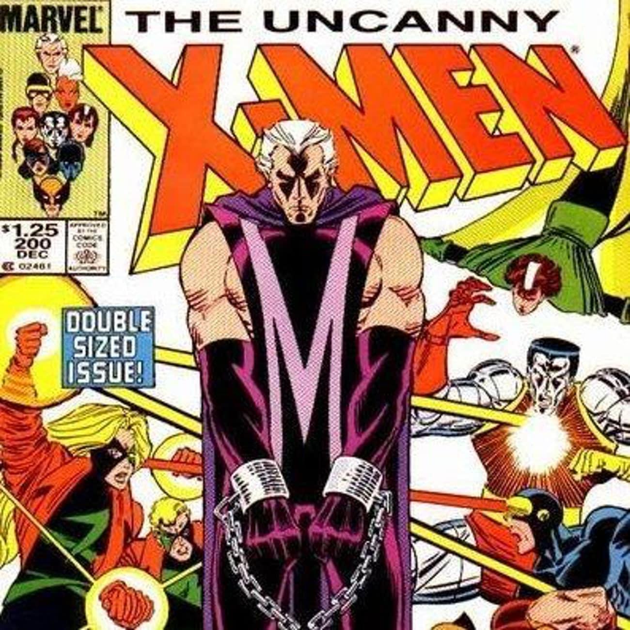 Хороший парень Магнето занесен (или занимает) 4-е место в списке 10 самых неудачных дизайнов костюмов супергероев за всю историю