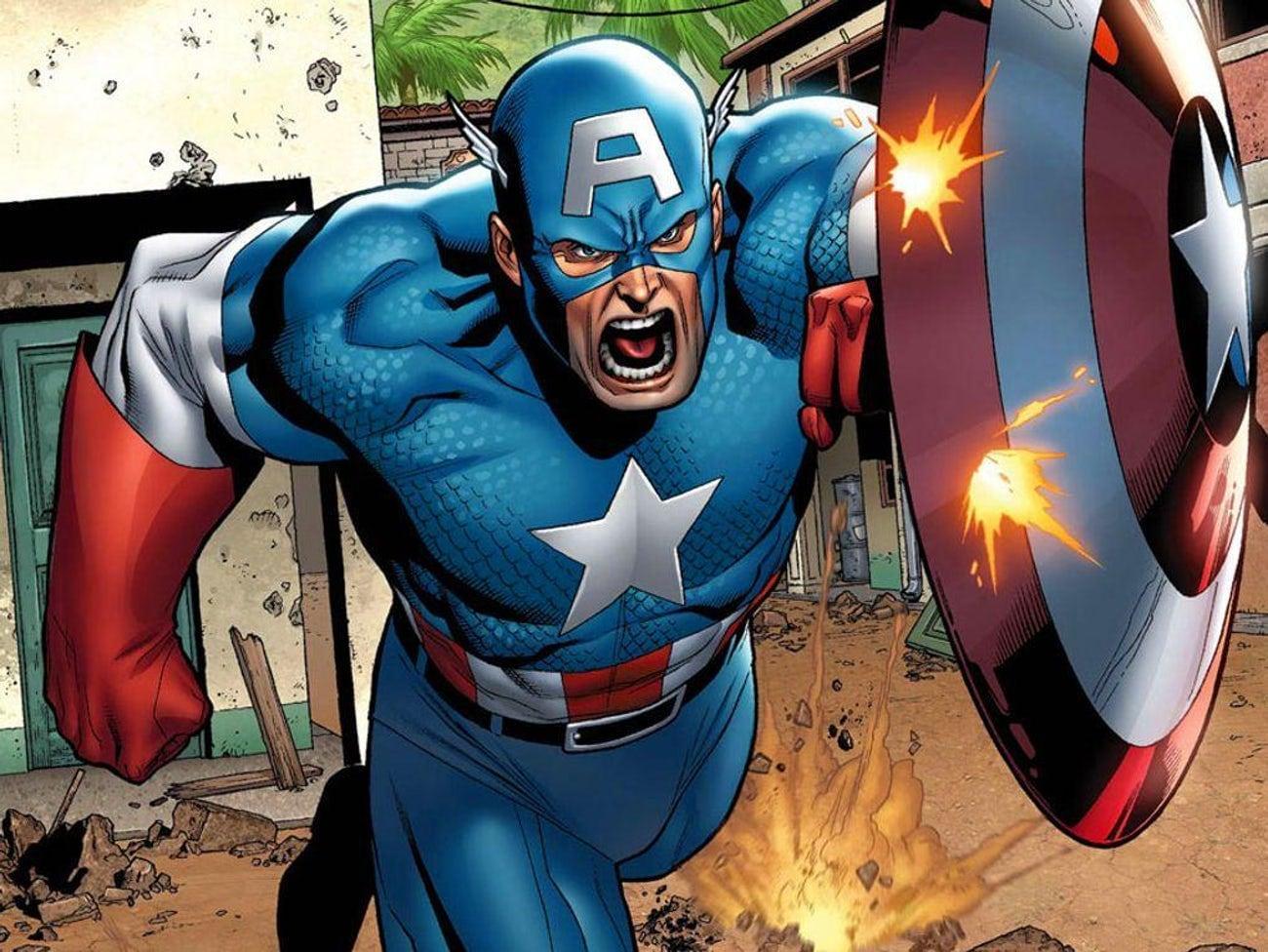 Капитан Америка занимает 2 место в списке 14 любимых супергероев, которых вы забыли, хладнокровных убийц.