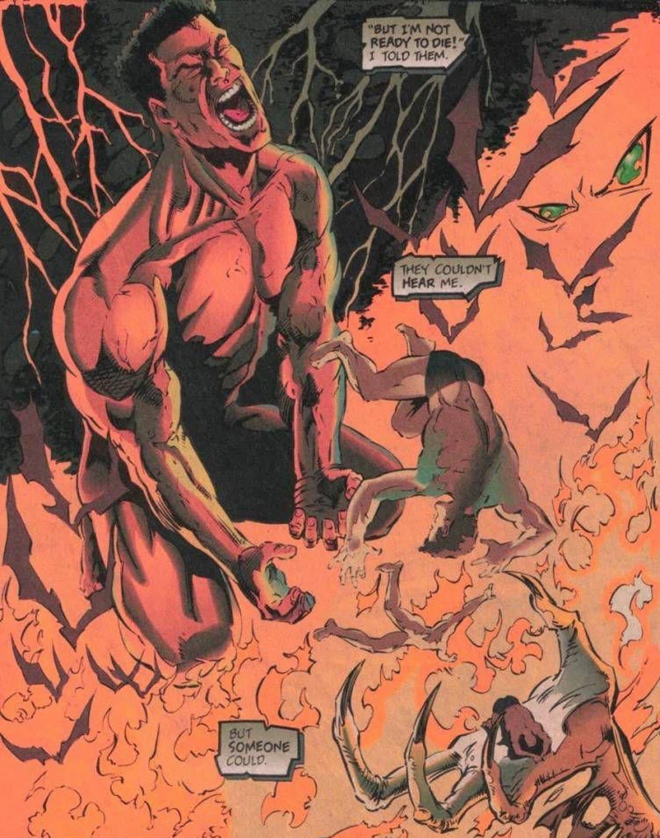 Спаун занесен в список 13 самых мучительных историй о происхождении супергероев (или занимает 5-е место)